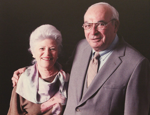 Florence and Bill Schneider